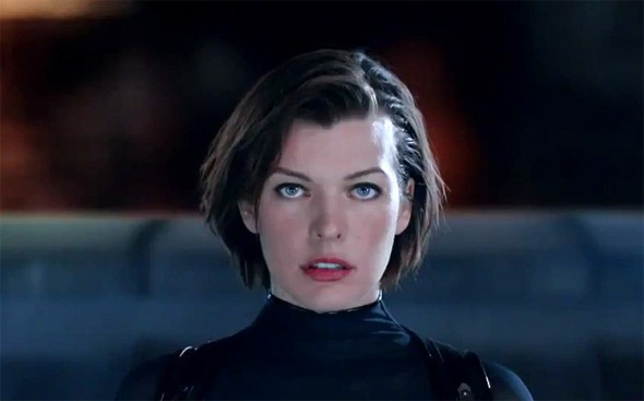 Resident Evil Retribution Milla Jovovich